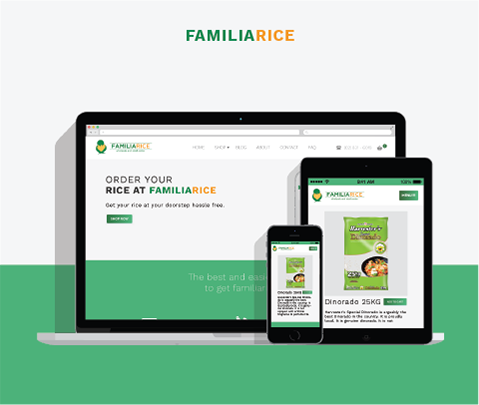 Familarice web design by Jude Gimeno Freelance Web Developer