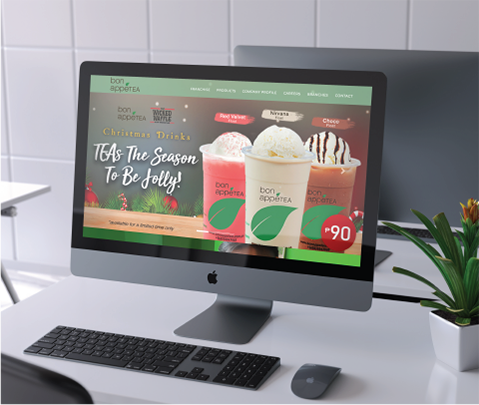 Bonappetea Web Development by Jude Gimeno Web Development in Makati Philippines