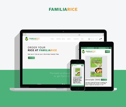 Familarice Web Design and Branding by Jude Gimeno