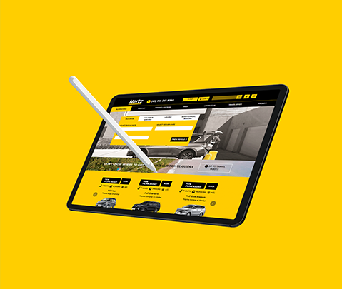 Hertz Philippines Web Development by Jude Gimeno