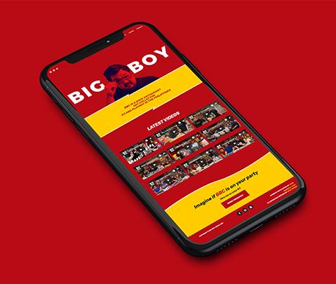 DJ Big Boy Cheng Website by Jude Gimeno