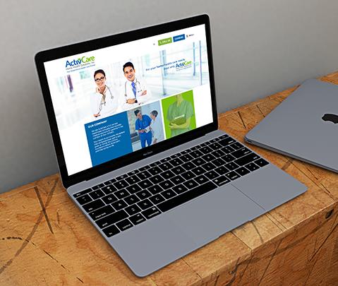 Activcare Home Health Solution Web Development by Jude Gimeno